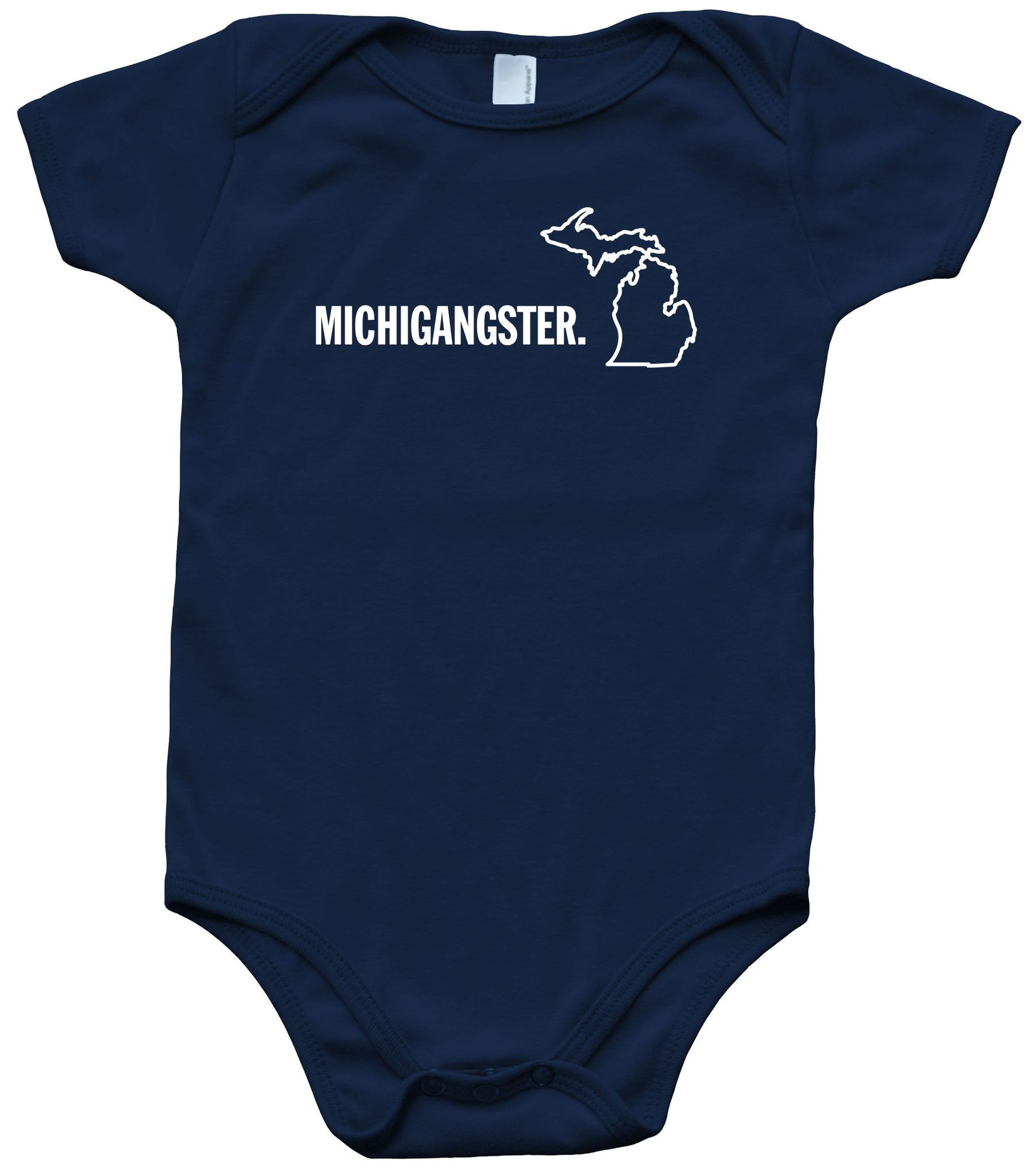 Baby Boys Kids I Love Michigan Printed Long Sleeve 100/% Cotton Infants T Shirts