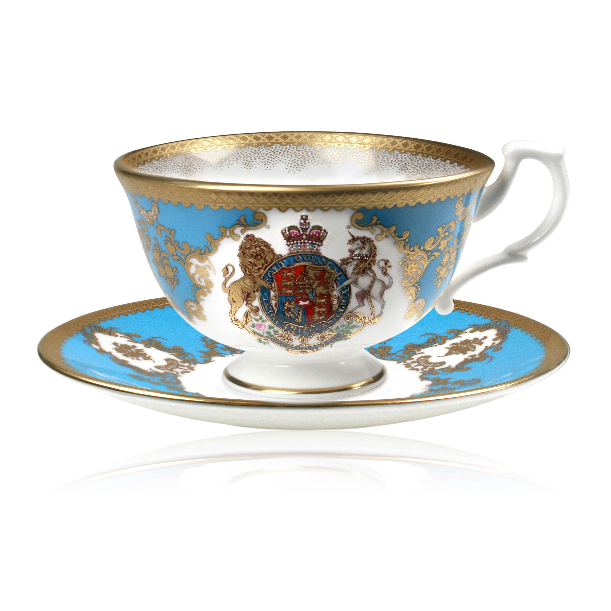 Coat of Arms Teacup \u0026 Saucer - Coat of Arms Collection - Chinaware ...