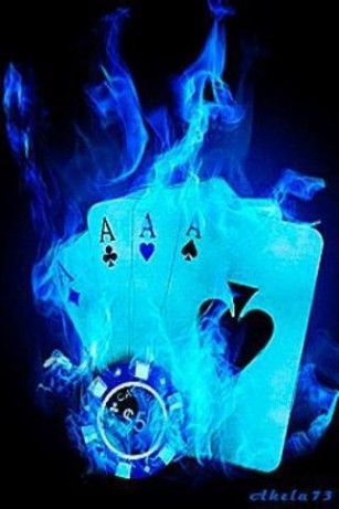 Blue Poker Live Wallpaper Hd For Android Dragon Wallpaper Iphone Cards Skull Wallpaper Cool moving gif live wallpaper