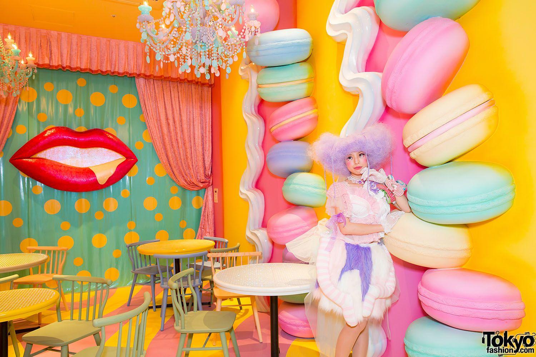 Kawaii Monster Cafe Harajuku 22 In 2019 Restaurant