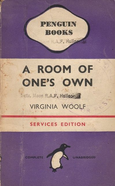 A Room Of One S Own By Virginia Woolf Room Of One S Own Bloomsbury Group Penguin Books