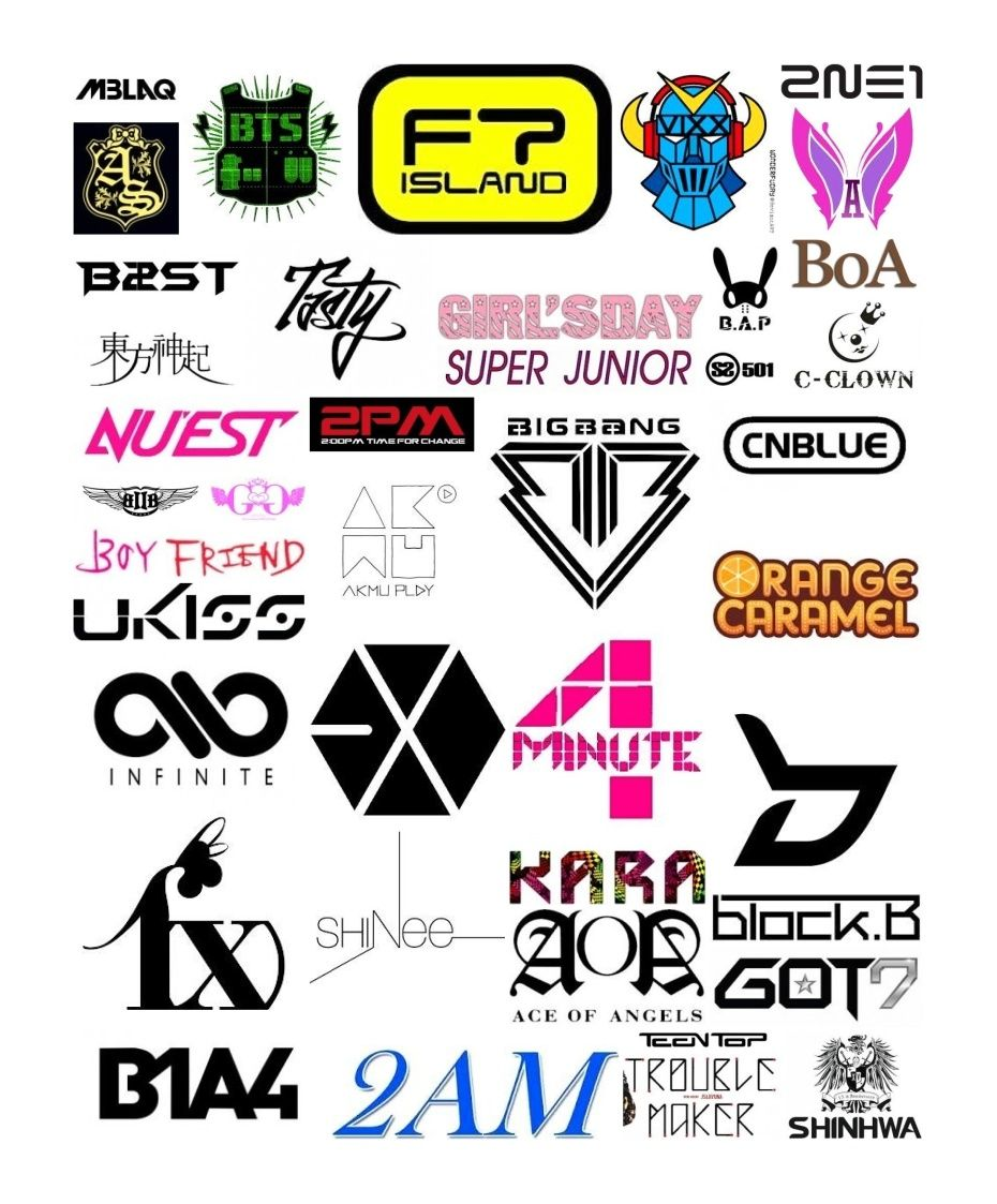 Rectangle Photo Collage Kpop logos, Photo collage, Cute