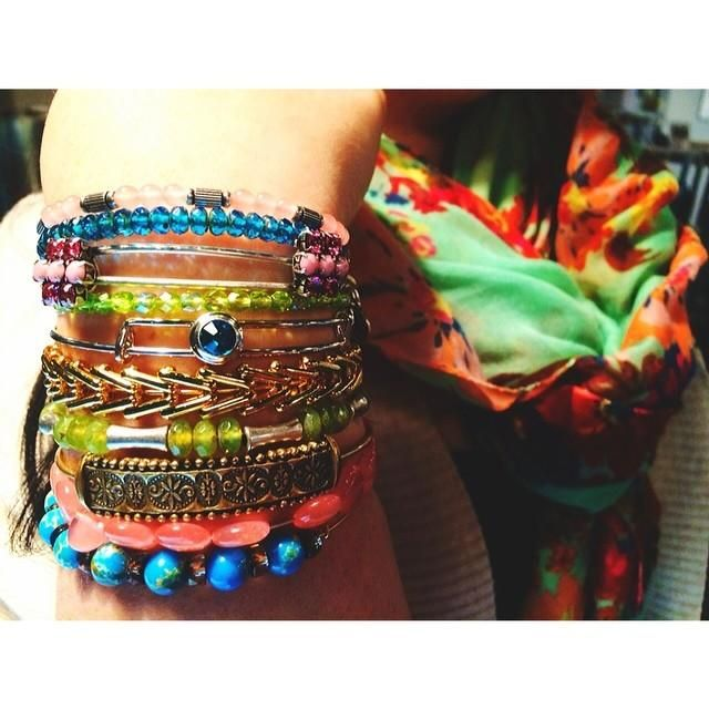 colorful #charmedarms!