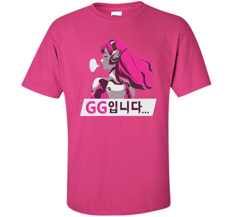 Overwatch D.Va GG Spray Tee Shirt | Shirts, Cool shirts and Sprays