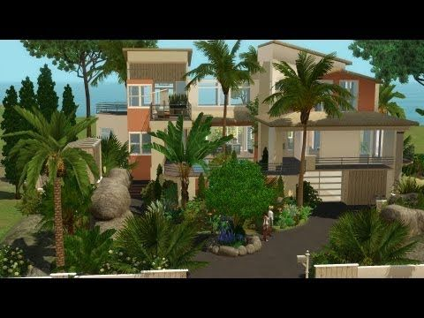 the sims 3 house building morning pearl 55 speed build rh pinterest com