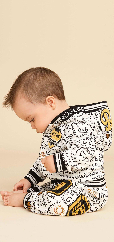 8b443a8b5eaa Cute! Dolce Gabbana Baby Boys White Love Graffiti Prince Sweatshirt ...