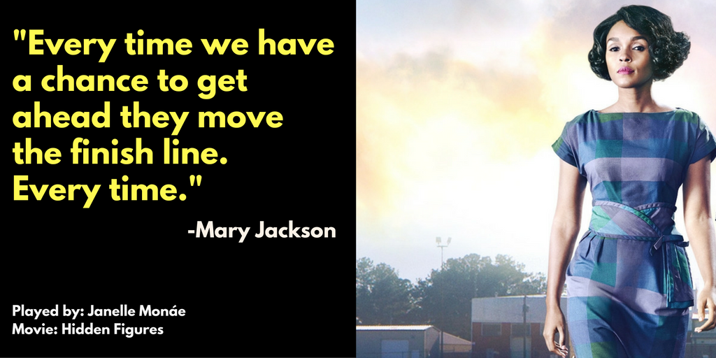 Movie Quote By Mary Jackson From Hidden Figures