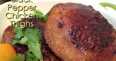 Serving : 3 adults      Appliances: Happycall double pan     Ingredient:   3 chicken thighs      Marinating ingredients:   2 cloves gar...