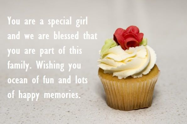 Birthday Wishes Ideas Sister ~ Cute birthday cupcake quotes for sister birthday wishes