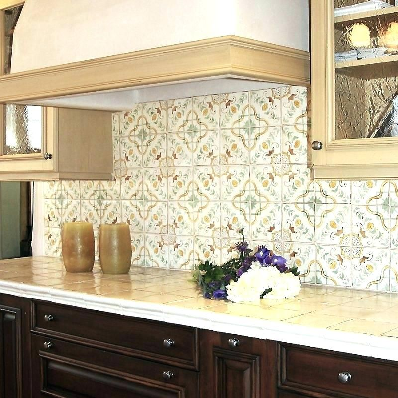 Awesome Ceramic Tile Backsplash Model Design Ideas Moroccan