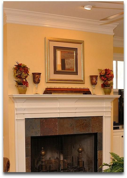 home staging tip what not to do with your fireplace mantel rh pinterest es