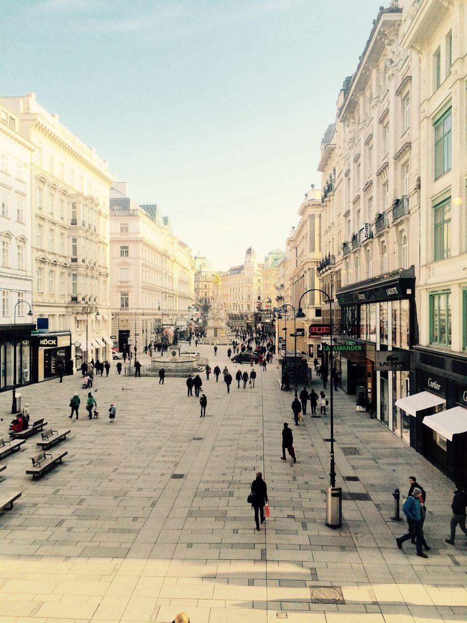 Graben Vienna. Austria Vienna