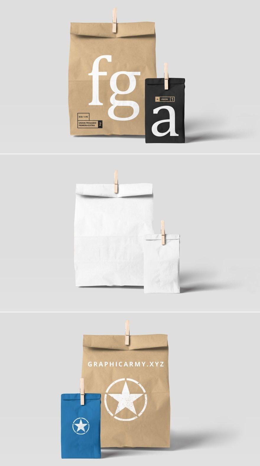 Download Free Paper Bag Mockup Bag Mockup Design Freebie Free Paper