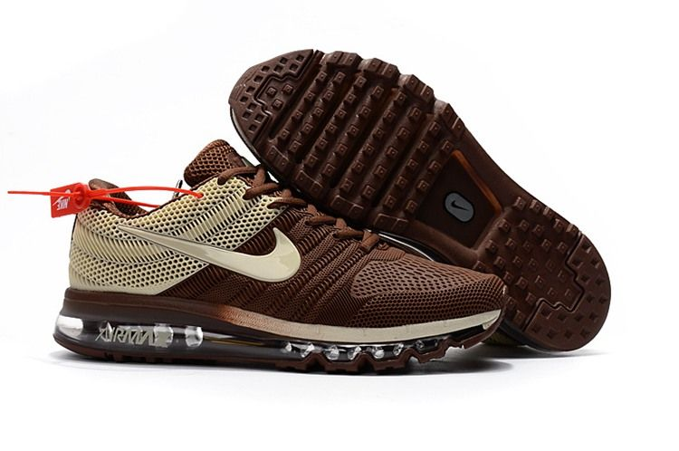 Nike Air Max 2017 Top Running Shoes Mens Brown Beige Sneakers Men Fashion Running Shoes For Men Nike Air Max