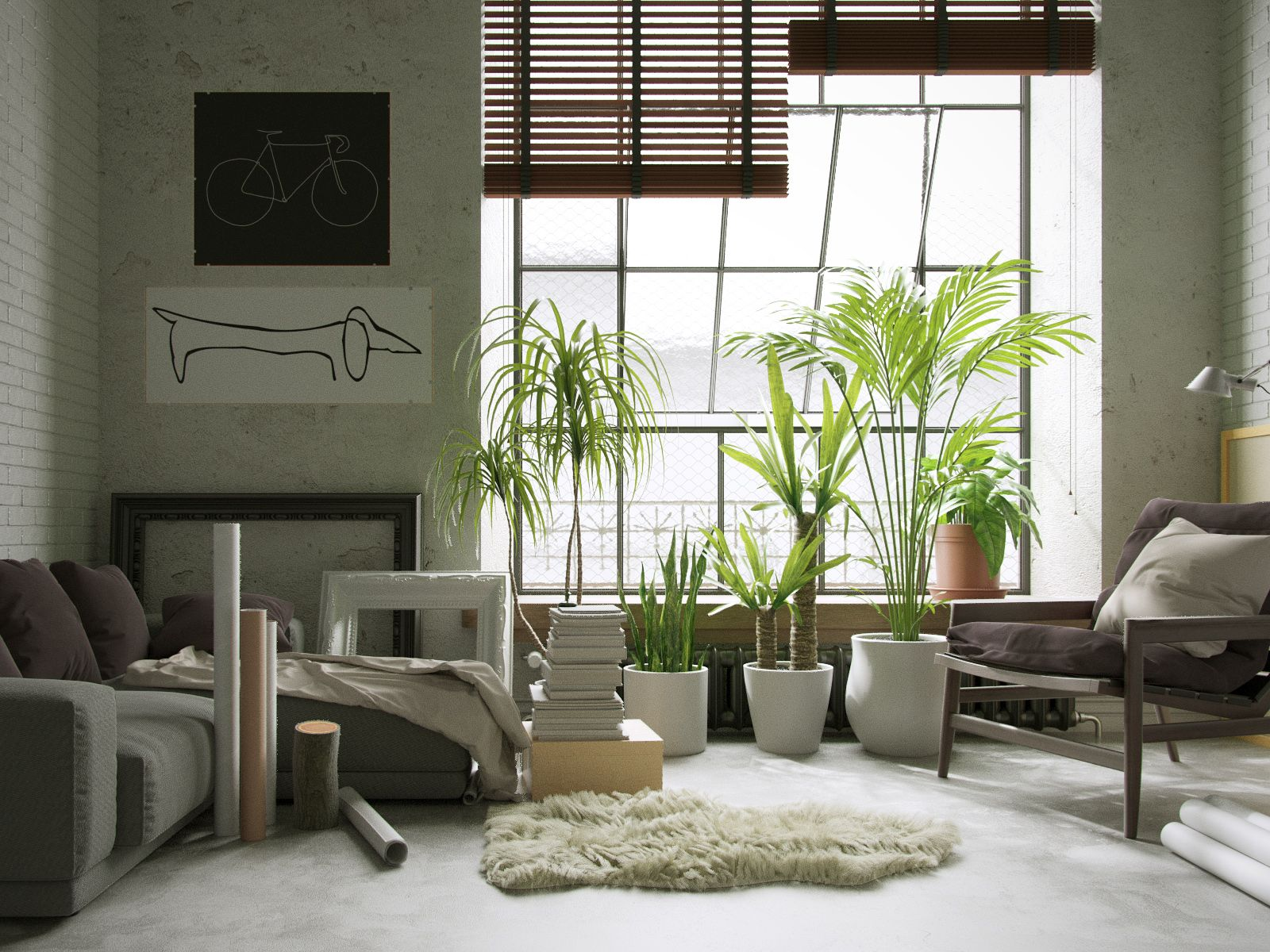 Brooklyn Interior by Lechu httpwwwblendernationcom20160626brooklyn interior lechu
