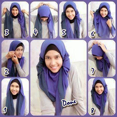 Cinta Dan Wanita Kreasi Cara Pakai Jilbab Pashmina Hijab How