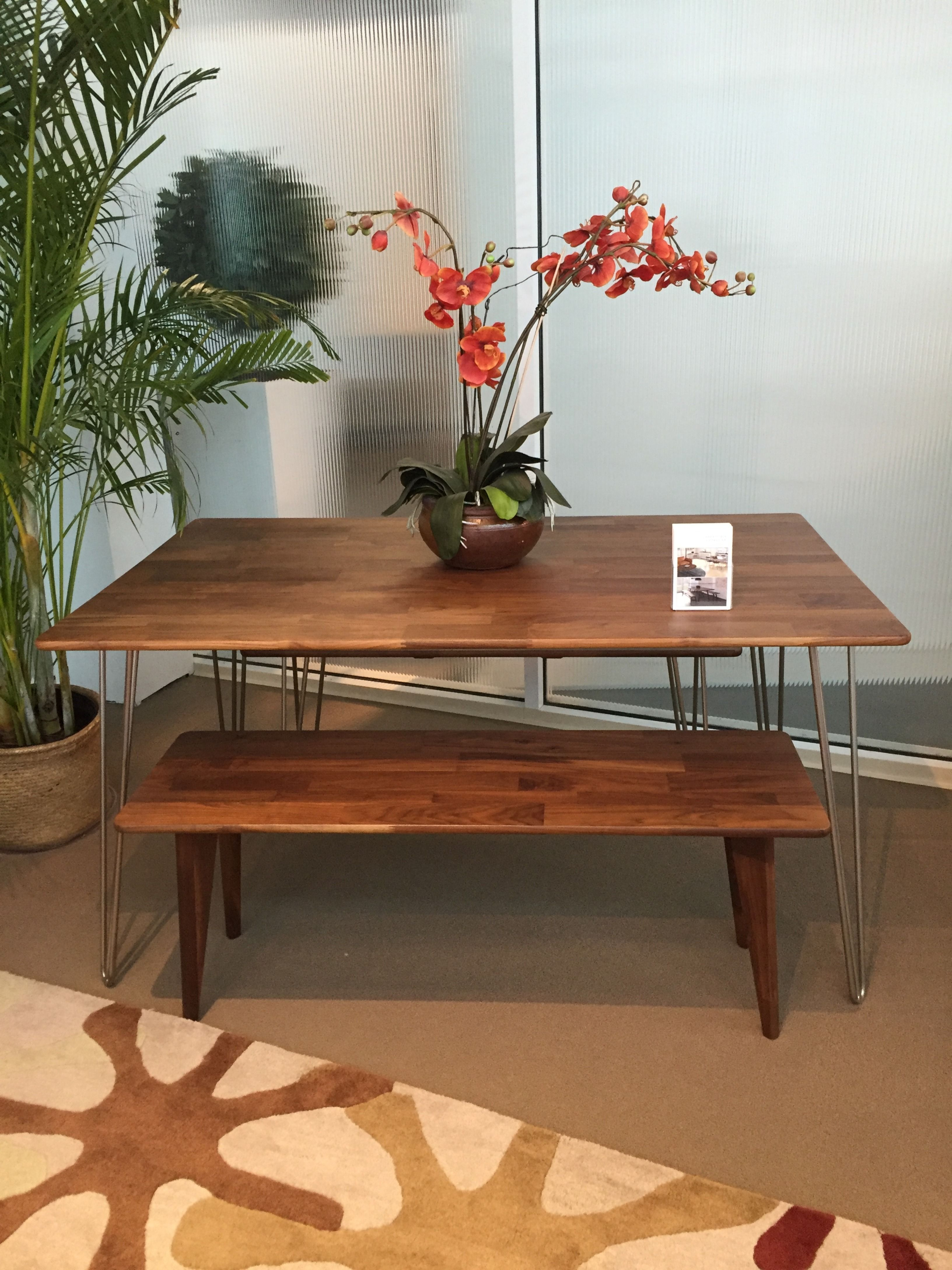 Copeland S Essentials Dining Table And Bench Are Made From