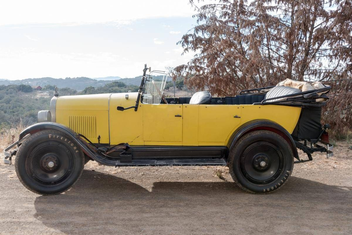1922 maxwell touring car