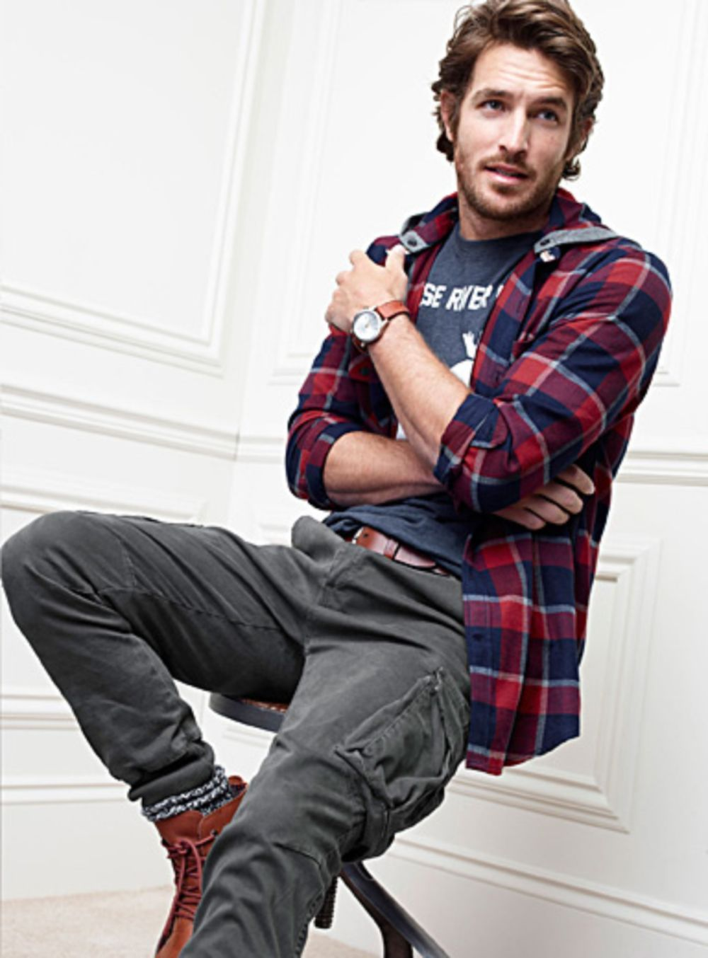 Pin by Mens Fashion Hipster on Mens Fashion Flannel  Pinterest