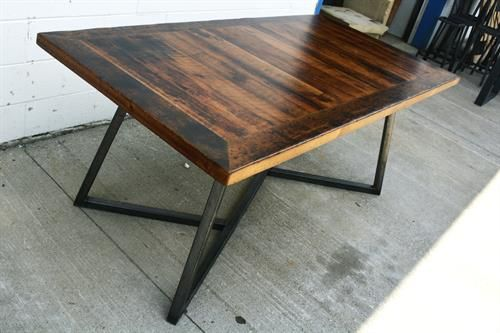custom urban reclaimed wood dining table with extensions reclaimed rh pinterest ca