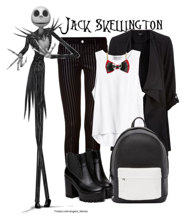 """Jack Skellington"" by justjuleznotjules on Polyvore featuring Faith Connexion, PB 0110 and Burton"