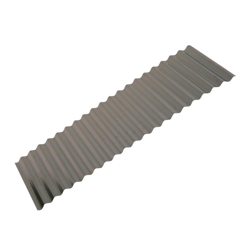8 Ft Corrugated Galvanized Steel Utility Gauge Roof Panel 13513 The Home Depot Roof Panels Galvanized Steel Corrugated