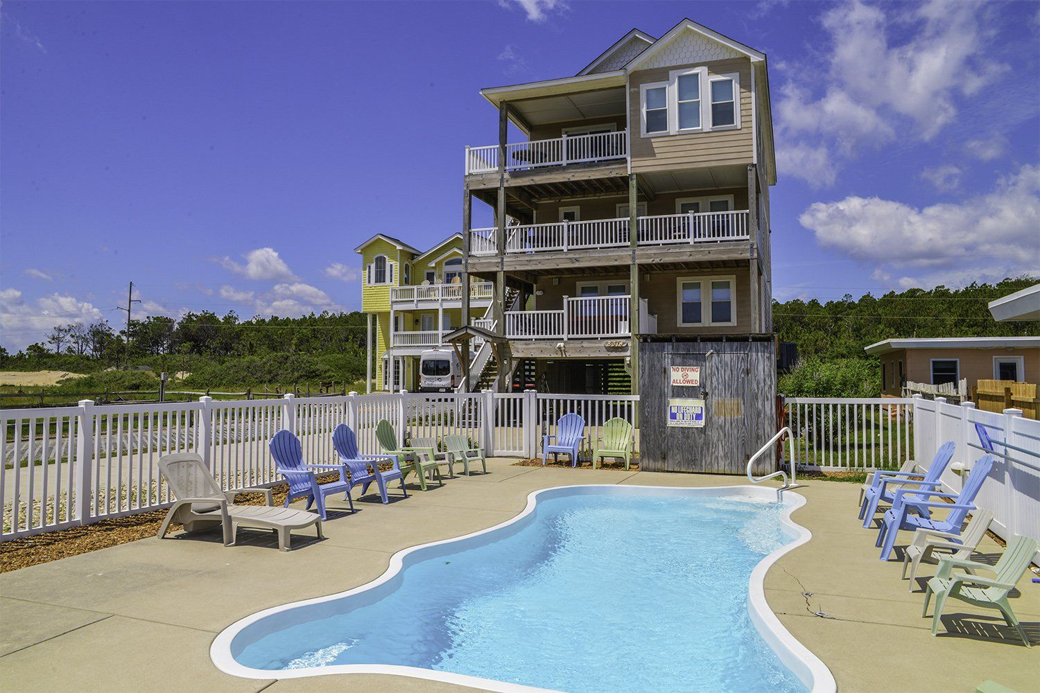 a perfect outer banks nc 6 bedroom 5 bathroom house rental in rh pinterest com