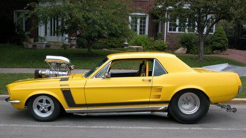 Pro Street Mustang on Ebay