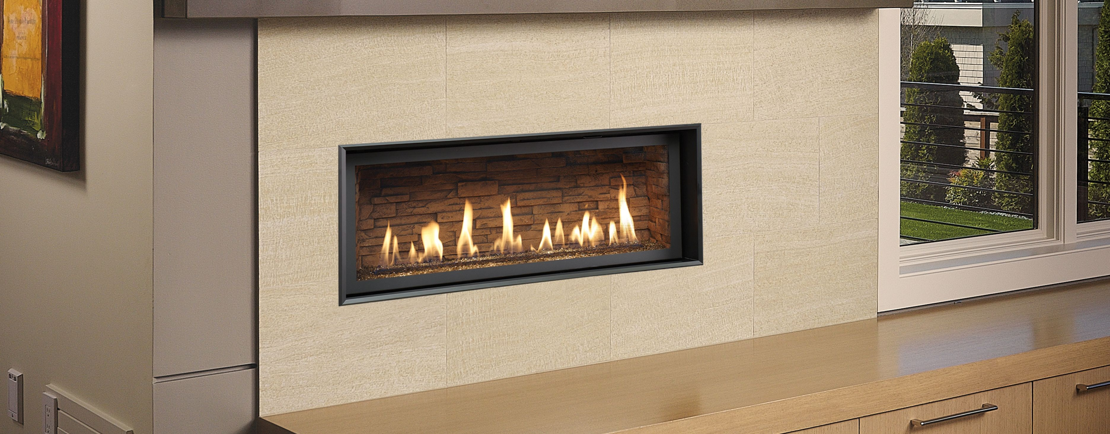 xtrordinair s high output linear gas fireplace series with 3615