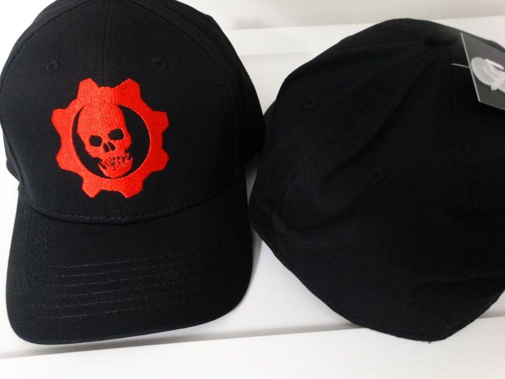 Gears of war omen logo video game flex fit hat voltagebd Choice Image