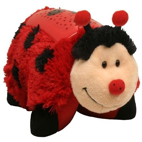 Pillow Pets Dream Lites Ms Ladybug Red 11 Stuffed Plush Night Light Nib Pillowpets Msladybug Nightlight Animal Pillows Dream Night Plush