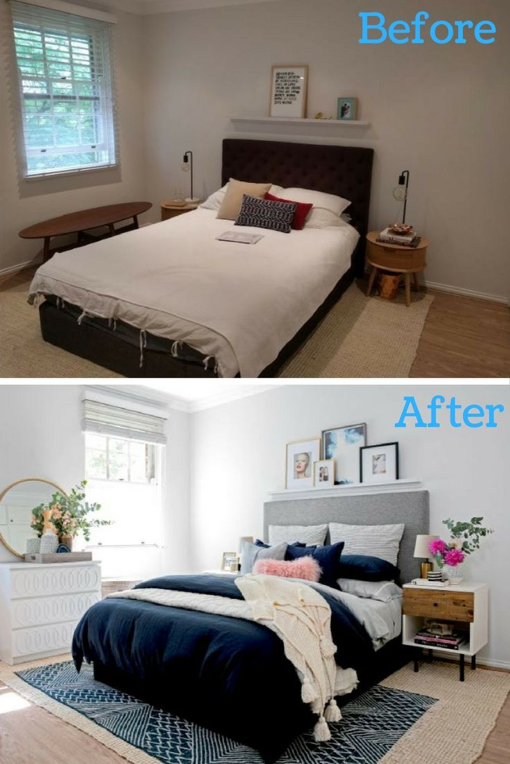 Room Modern bedroom makeover This sophisticated