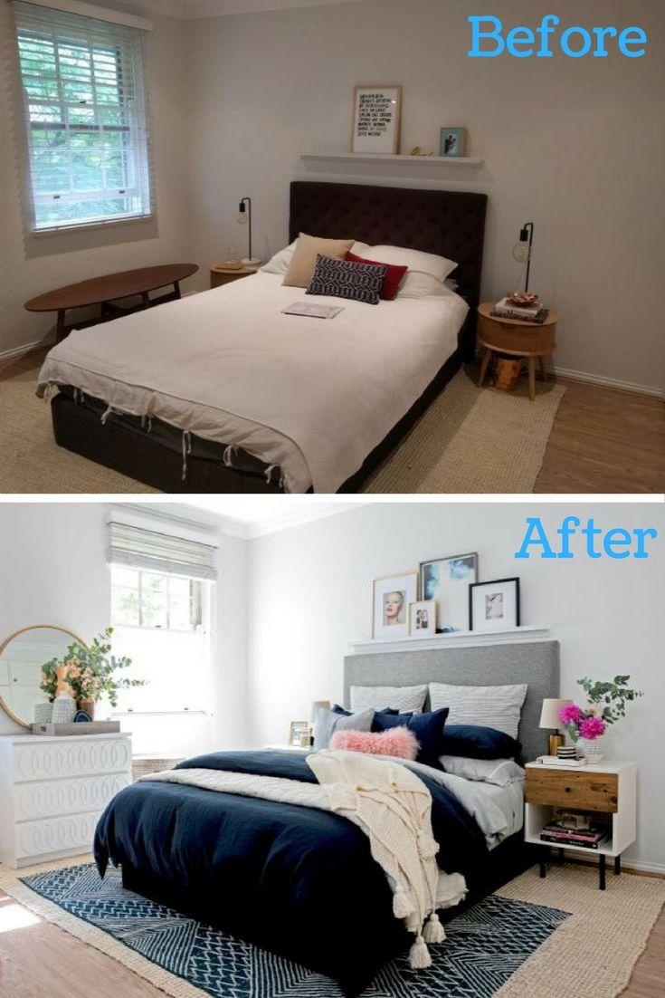 Modern Bedroom Makeover This Sophisticated Bedroom Transformation Belongs To Bedroom Makeover Before And After Sophisticated Bedroom Master Bedroom Makeover