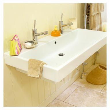 double sink for bathroom bathrooms rh pinterest es