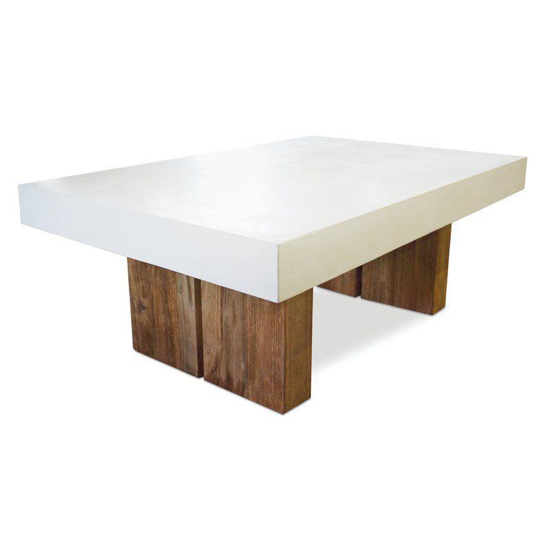 SeasonalLiving Perpetual Stone/Concrete Coffee Table ...