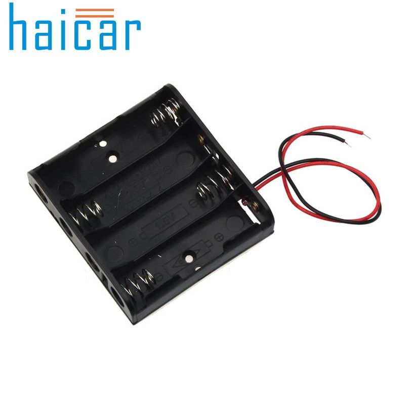 Haicar Organizer Aa Size Power Battery Storage Case Box Holder Leads With 1 2 3 4 Slots U70217 Battery Storage Battery Holder Power