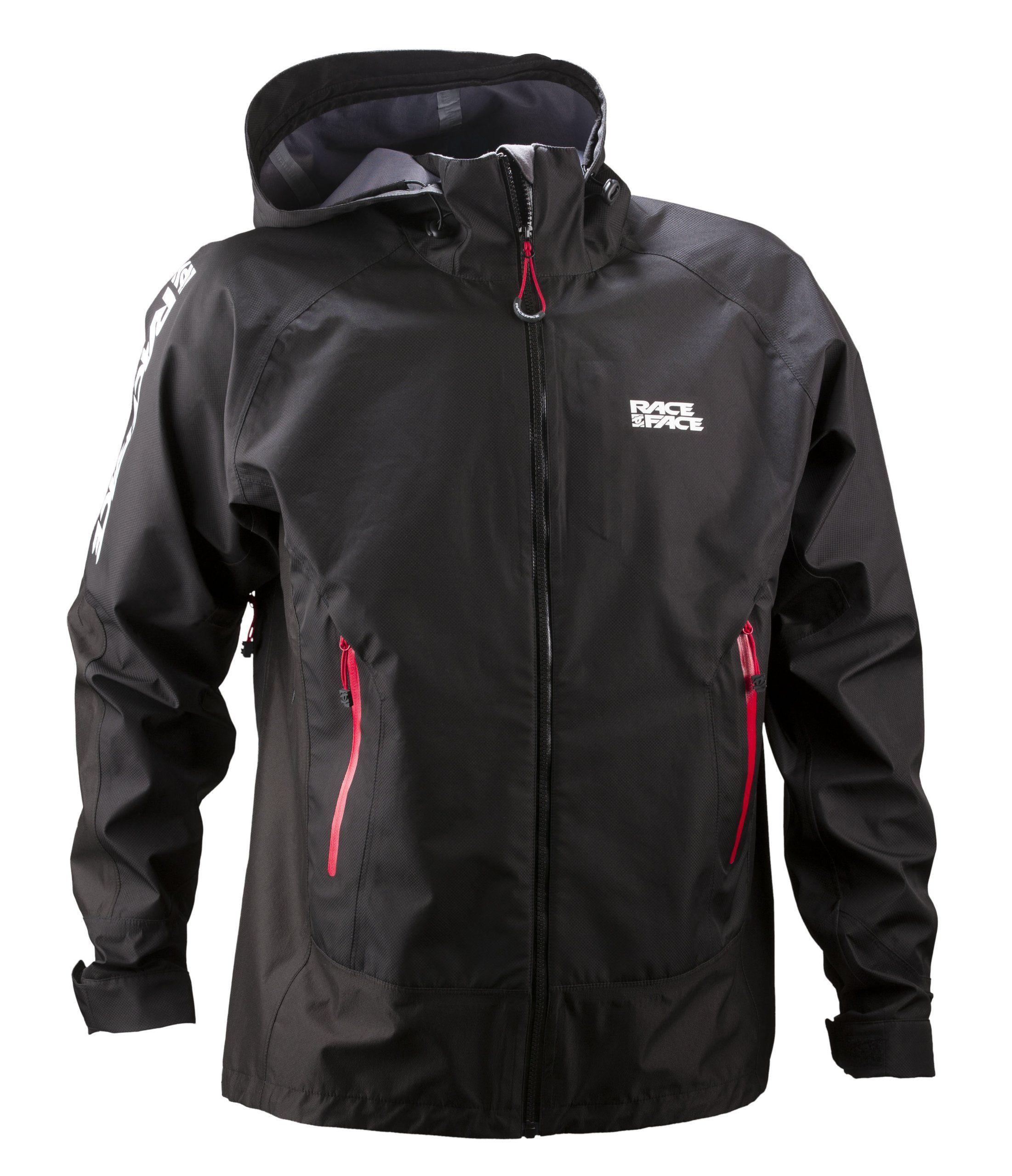 Race Face Chute Waterproof Jacket, Black, Large