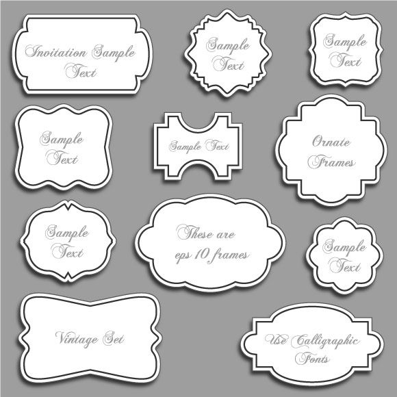free borders and bracket frames to download pure sweet joy 1