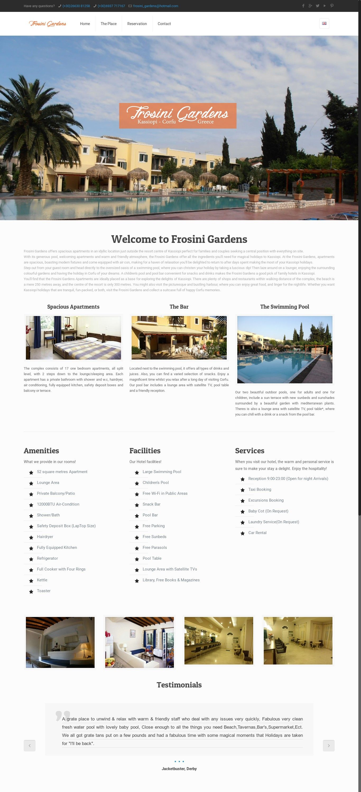 Real Estate Template%0A WordPress site frosinikassiopi comen uses the Betheme Child wordpress  template