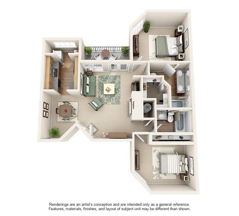 Steadfast Floorplans Apartment Layout House Plans Apartment Plans