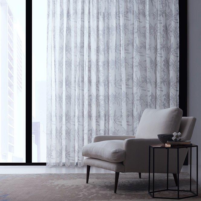 provence sheer drapery fabriccharles parsons interiors | ideas