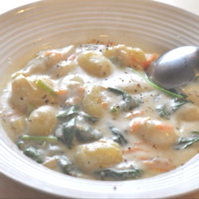 Olive Garden Chicken And Gnocchi Soup From The Absolute Best Recipes Lunch