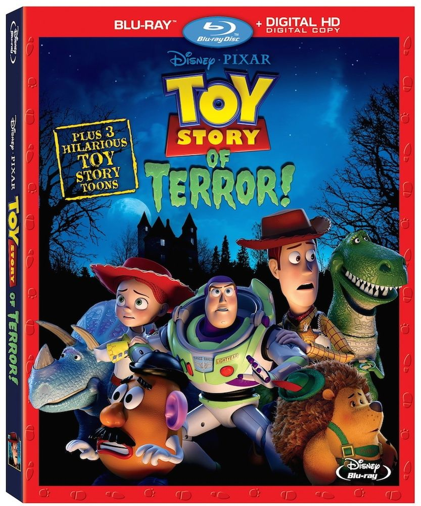 TOY STORY OF TERROR heading to Blu-ray/DVD with a bunch of extras!