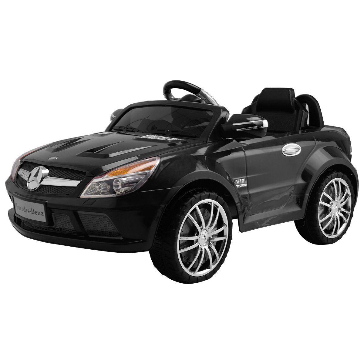 12V Mercedes Benz SL65 Electric Kids Ride On Car Music RC Remote Control