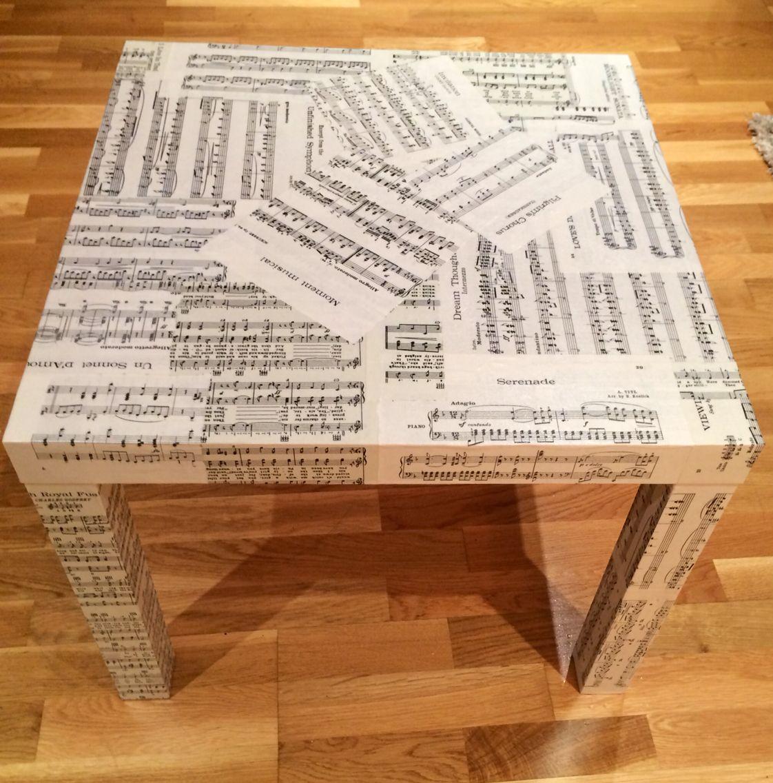 Ikea Lack Table Decoupage Ikea Lack Table Ikea Table Lack Table [ 1136 x 1122 Pixel ]