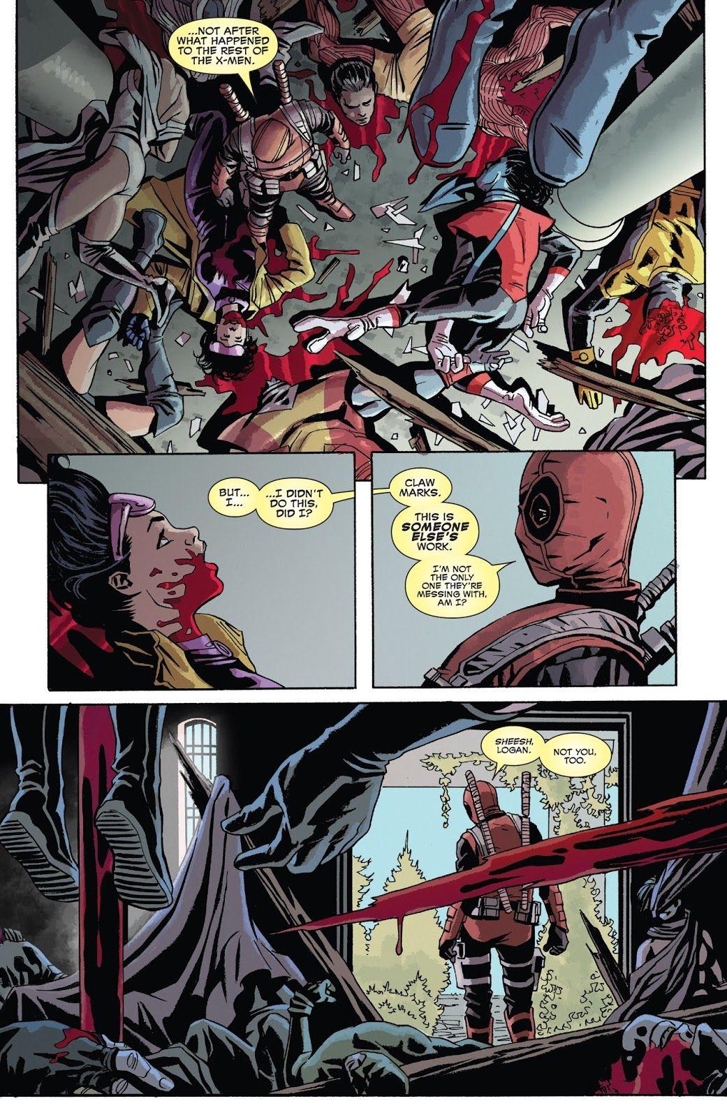 "[Spoilers] ""Deadpool kills marvel universe again"" happens"