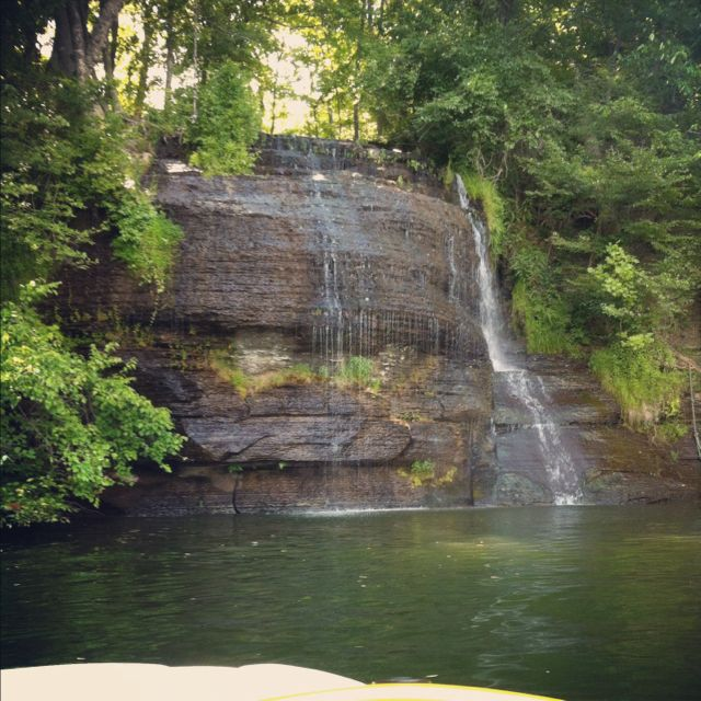 Yellow Creek Waterfall Pickwick Lake Places To Go Tennessee