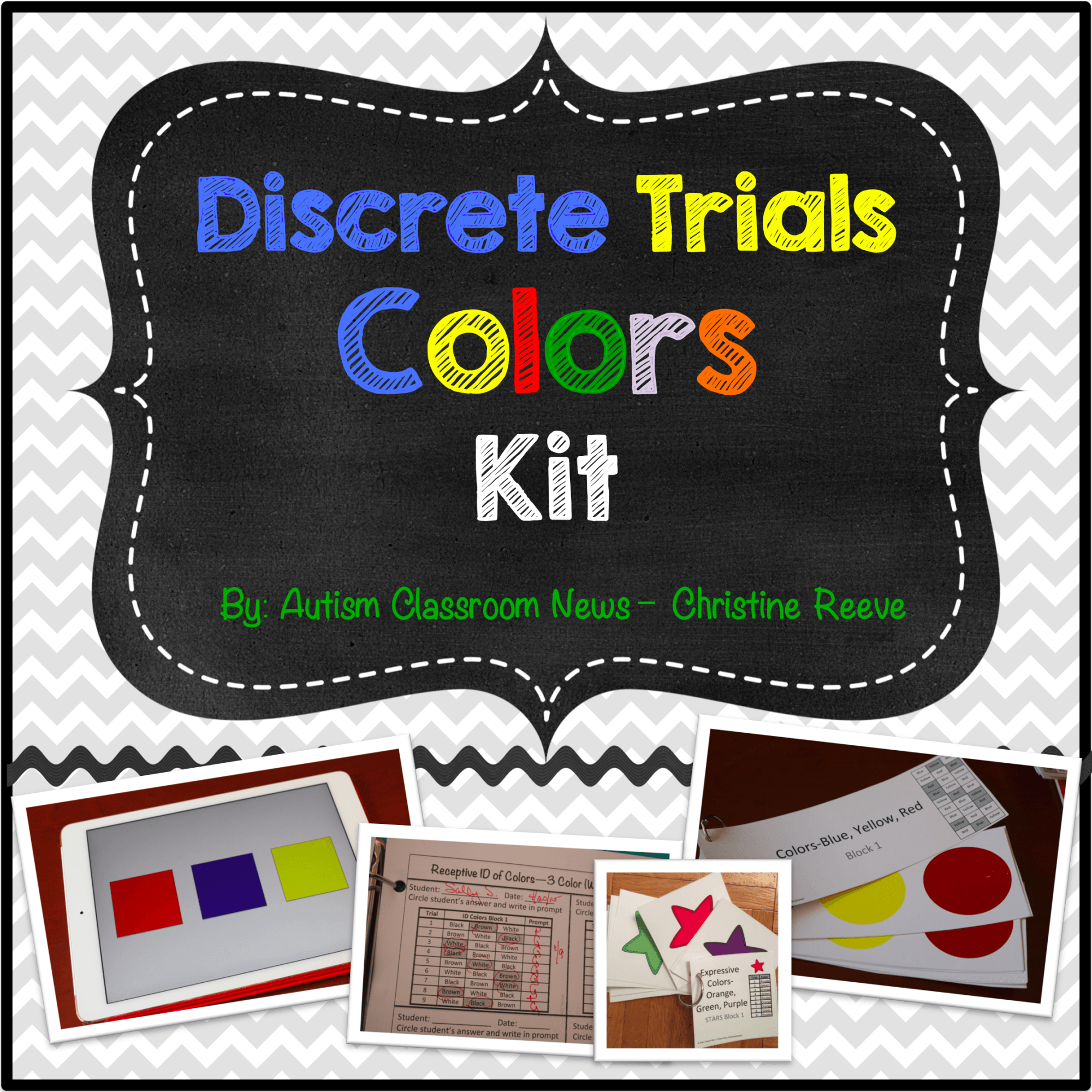Discrete Trial Kit And A Free Sampler
