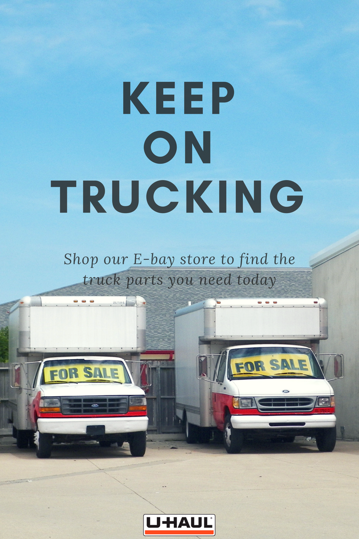 Keep on trucking! With our Ebay store, you can find all the