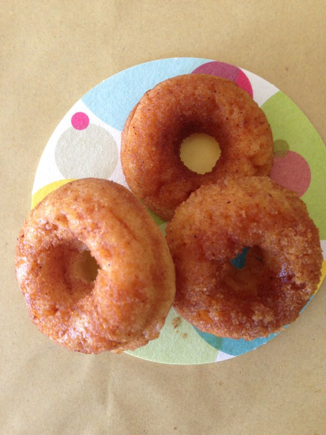 Baked Cinnamon Maple Syrup Donuts Cinnamon Donuts Donut